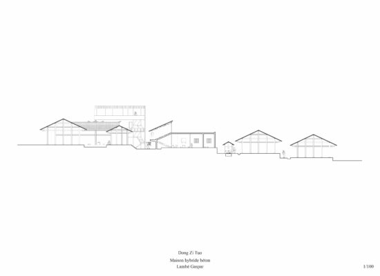 Dong-Zi-Tuo-maison-hybride-béton-coupe-longue-Gaspar-Lambé